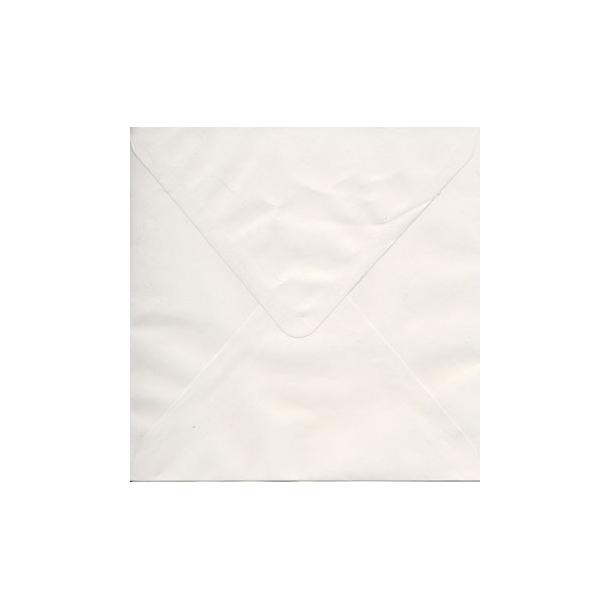 Kuvert 15,5x15,5cm hvid 10 stk