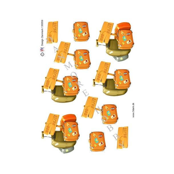3D ark kufferter