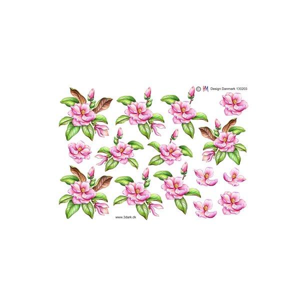 Flot lyserød blomst