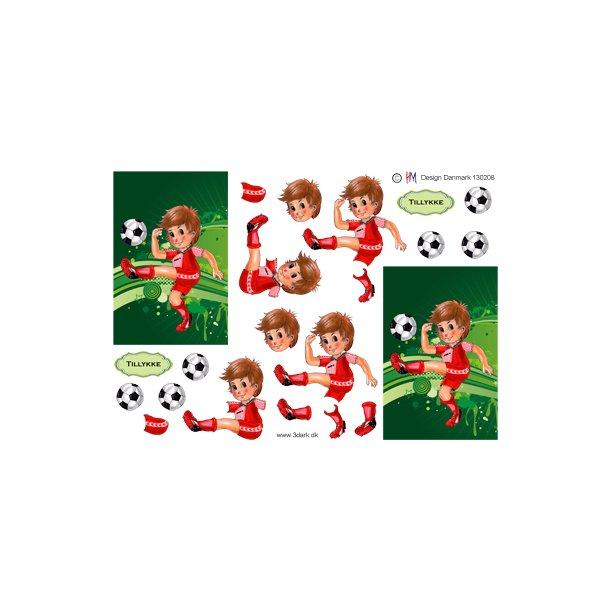 Fodbold dreng