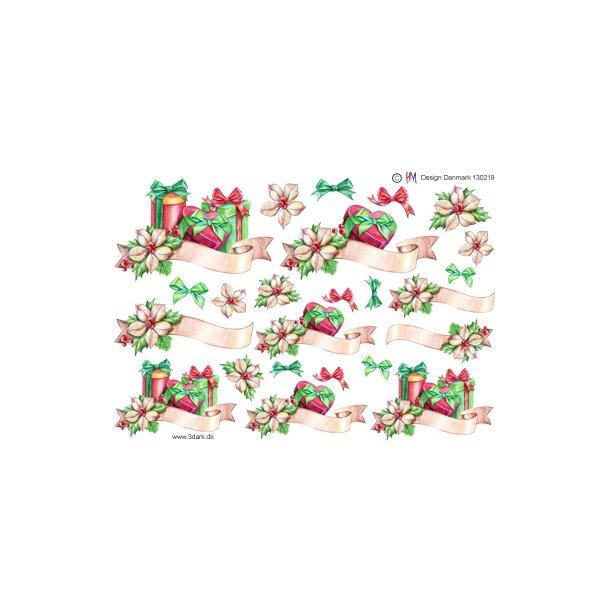 Gaver med julerose