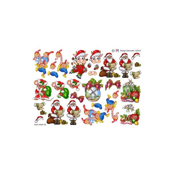 Forskellige små julemotiver