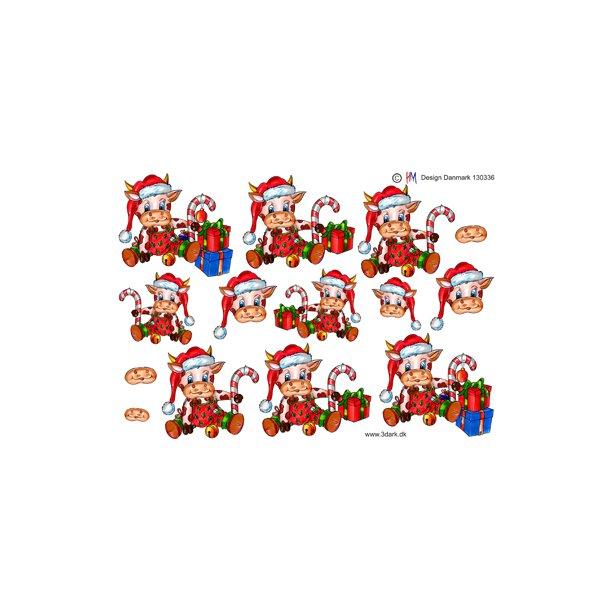 Juleko med julegaver