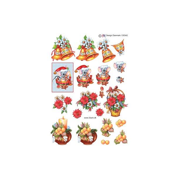 4 små julemotiver