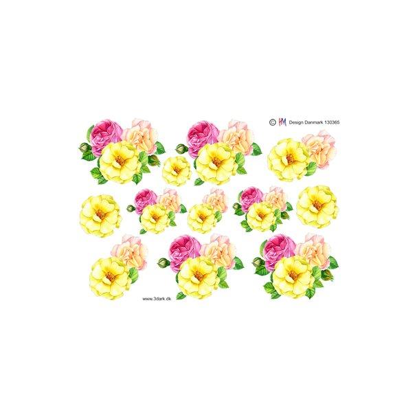 Blomster i skønne forårsfarver