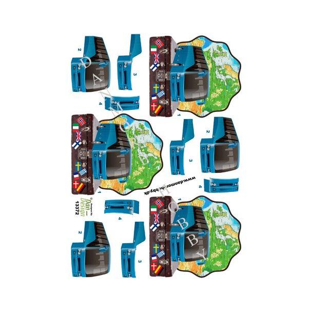 3D ark busrejse