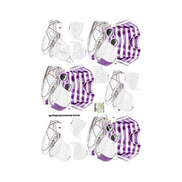 3D ark Dan-Design pigetøj og tekst