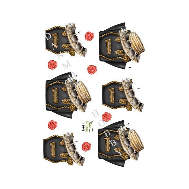 3D ark Dan-design dameting