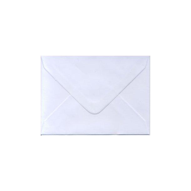 Kuvert 8,3 x 11,3cm hvid 10 stk
