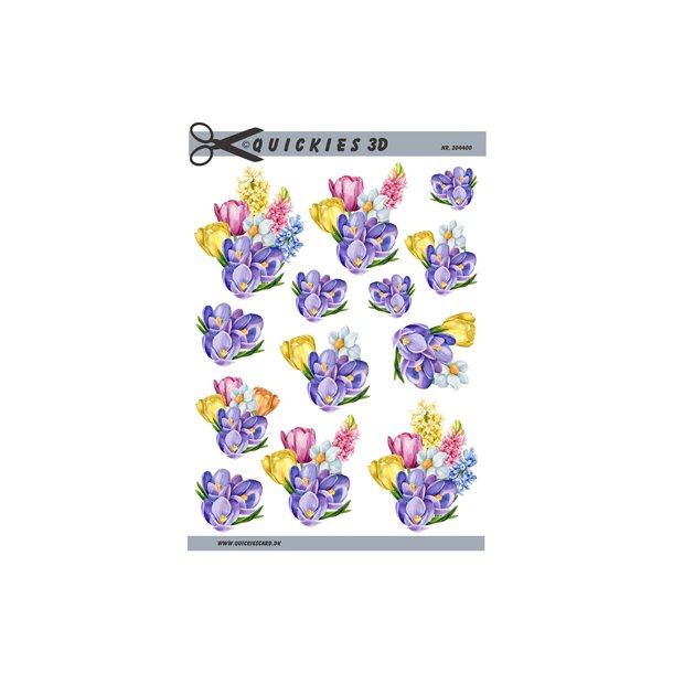 Dejlige forårsblomster, Quickies 3d
