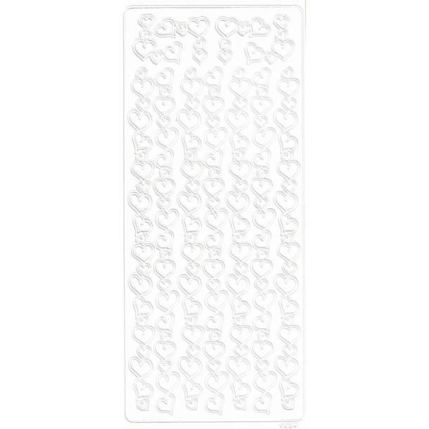 Decorstix Border og hjørner 1 hvid