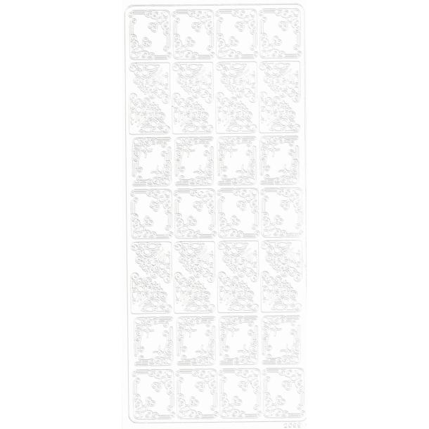 Decorstix Hjørner 1 hvid