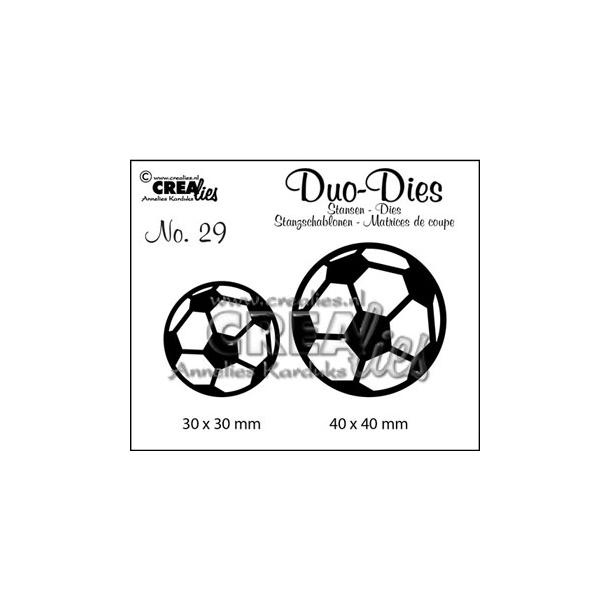 Dies Crealies DD29 fodbolde