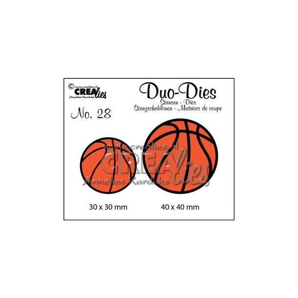 Dies Crealies DD28 basketbolde
