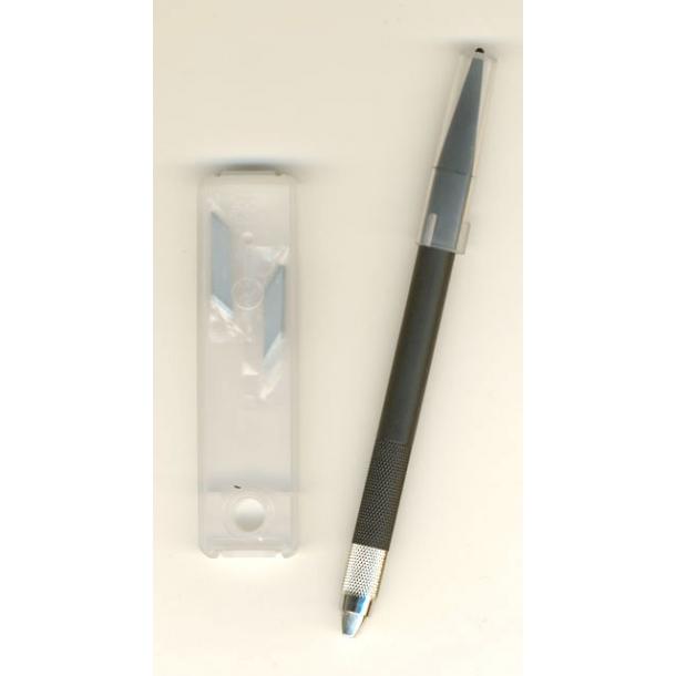 Kniv skalpel NT-cutter D-400 m. 5 blade