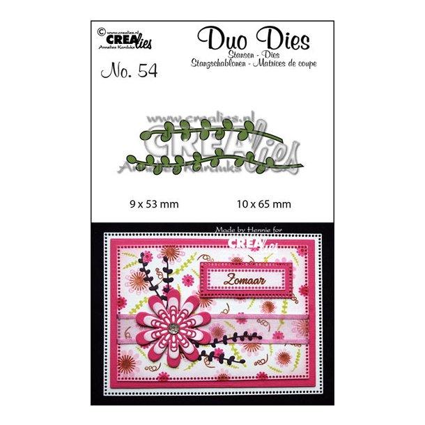 Dies Crealies CLDD54 - Duo Dies 54