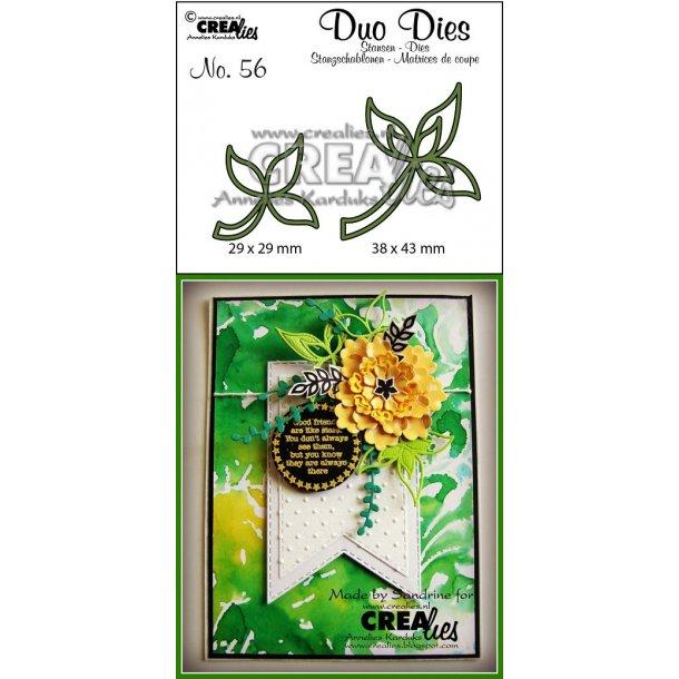Dies Crealies CLDD56 - Duo Dies 56