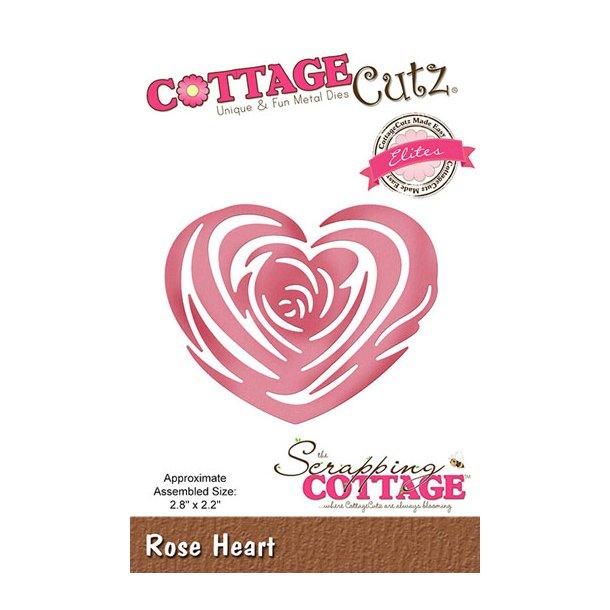 Dies CottageCutz CCE-505 rosehjerte