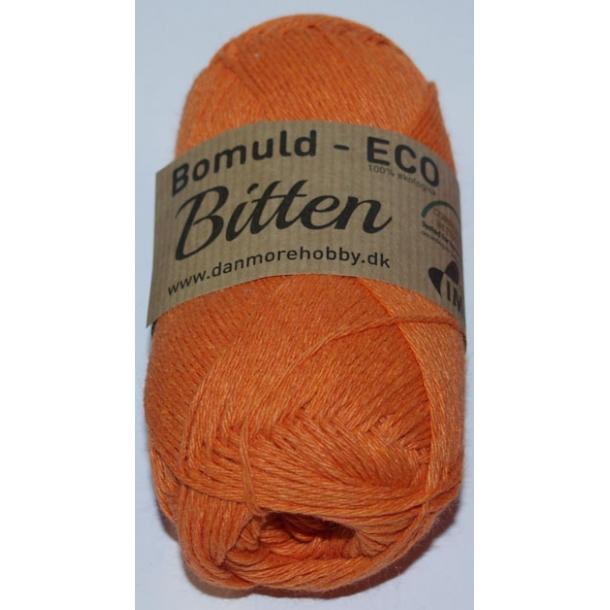 Garn Bitten bomuld Eco Orange 1
