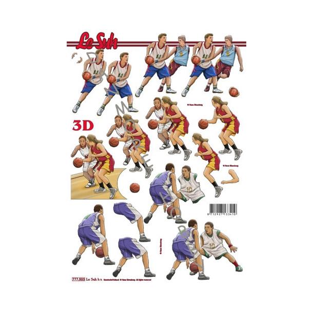 3D ark A4 basketball