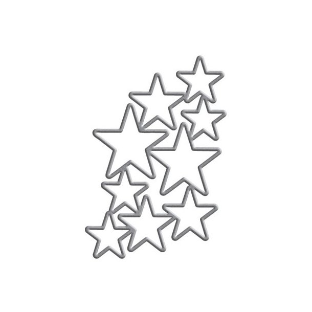 Dies Spellbinders S5-244 stjerner