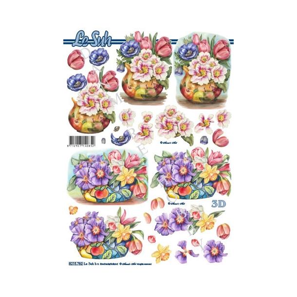 3D ark blomster, påske