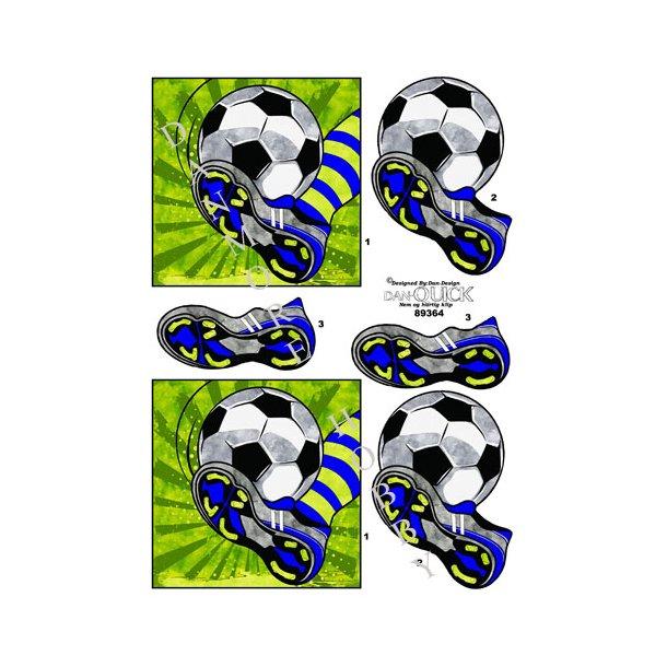 3D ark Dan-Quick fodboldspil