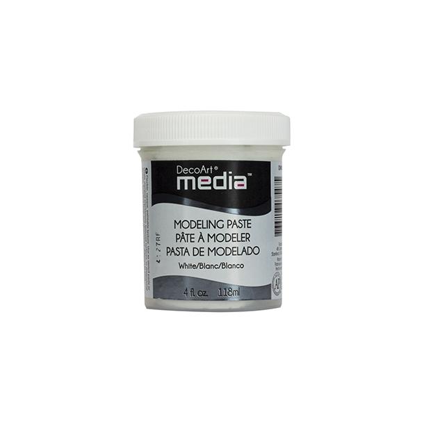 """DecoArt Modeling Paste """"White"""" 118ml DMM21"""