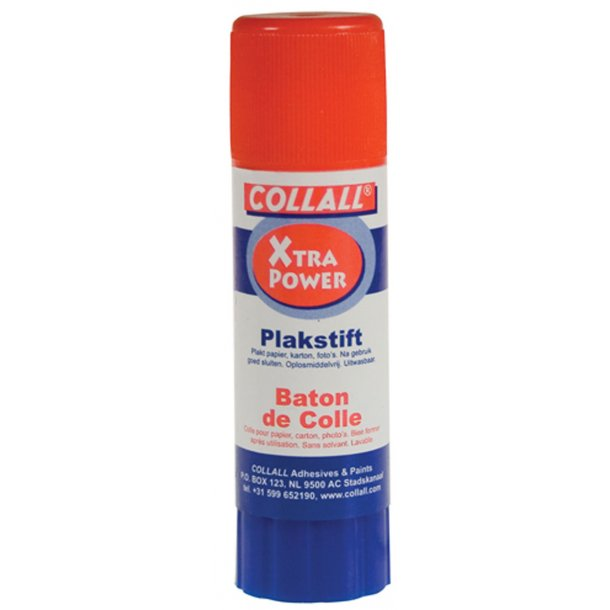 Limstift 21 g hvid extra power Collall
